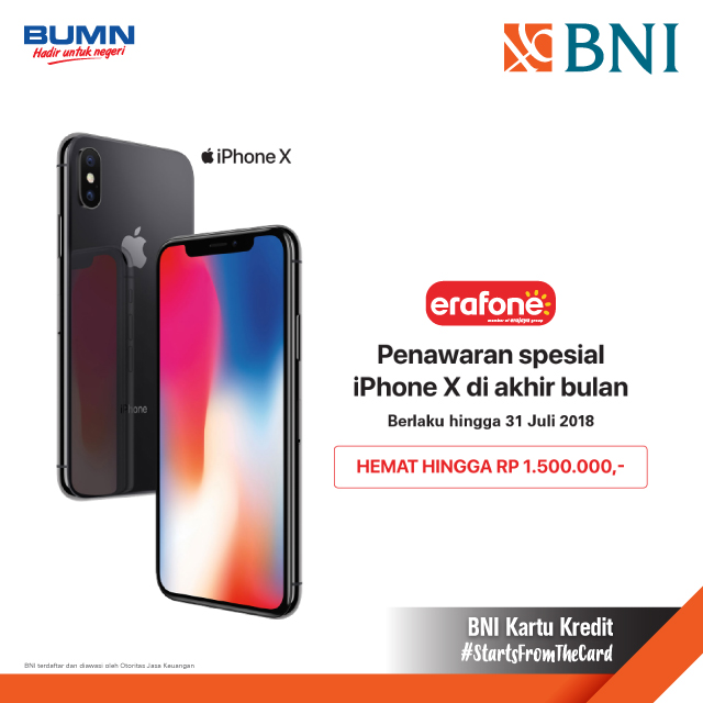 Special Diskon Iphone X At Erafone Com Dari Erafone Https M Bnizona Com Promo View 2739 0