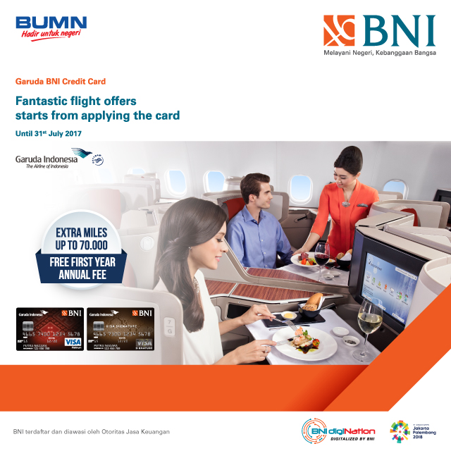 Get More Special Offer With Garuda Bni Credit Card Dari Garuda Indonesia Https M Bnizona Com Promo View 1743 23