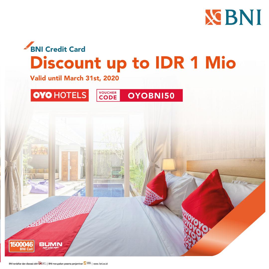 Oyo Hotel Discount Up To Idr 1 Mio Dari Oyo Hotel Https M Bnizona Com Promo View 4257 0